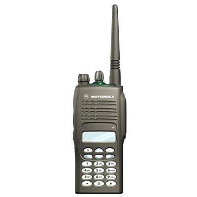 Motorola GP380 professionele portofoon (VHF/UHF) met LCD-display en volledig toetsenveld