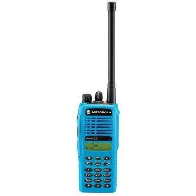 Motorola GP380 EX professionele explosieveilige ATEX portofoon (VHF/UHF) met display en keypad