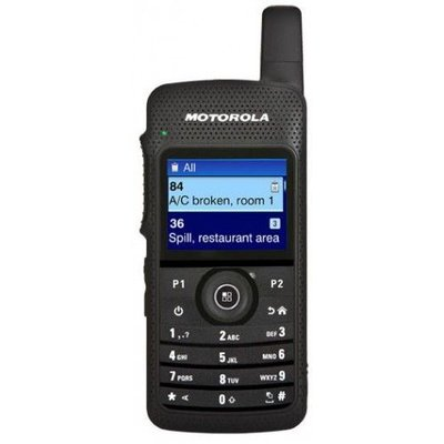 Motorola SL4000 digitale portofoon DMR MOTOTRBO GSM style