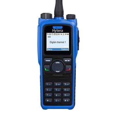 Hytera PD795 EX digitale portofoon ATEX Bluetooth en GPS UHF