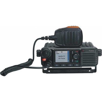 Hytera MD785 digitale mobilofoon DMR groot display en menupad VHF - UHF