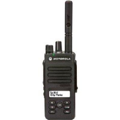 Motorola DP2600E digitale portofoon DMR MOTOTRBO VHF - UHF