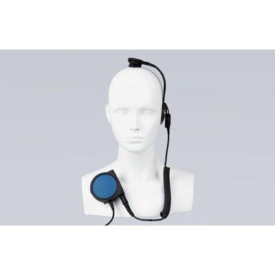 Hytera EBN04-Ex portofoon headset schedel mic intrinsiek veilig (EX/ATEX)