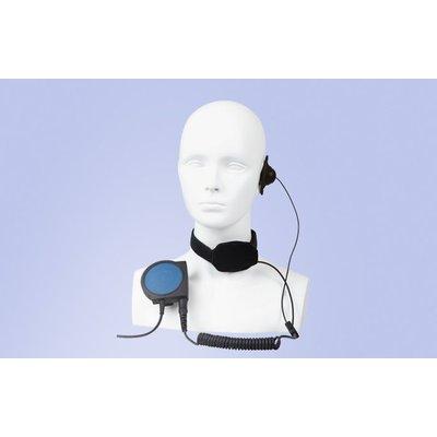 Hytera ELN09-Ex portofoon headset model keelmicrofoon