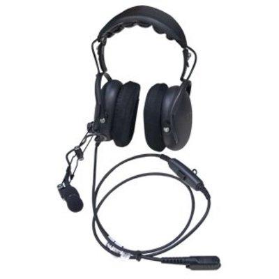 Motorola PMLN5731 MOTOTRBO portofoon headset Over-the-Head Heavy Duty