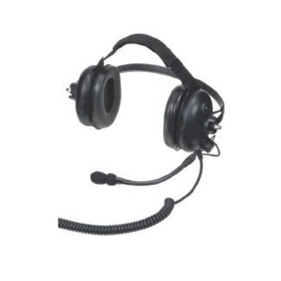 Motorola PMLN5275 Heavy Duty portofoon headset met boom microfoon
