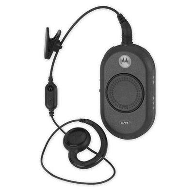 Motorola CLP446 vergunningsvrije portofoon met oortje en lader