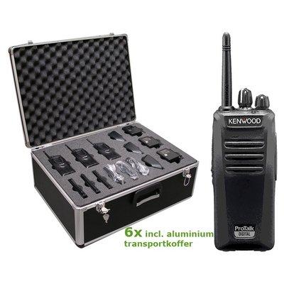Kenwood TK-3401 vergunningvrije portofoon transportbundel Pro Talk