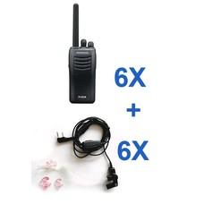 Kenwood TK-3501 portofoon en headset bundel