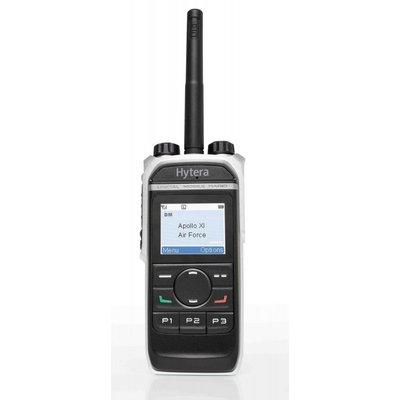 Hytera PD665G digitale portofoon DMR GPS en waterdicht VHF - UHF