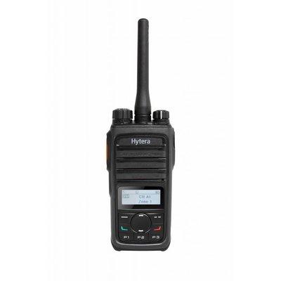 Hytera PD565 digitale portofoon DMR met display en menutoetsenveld VHF - UHF