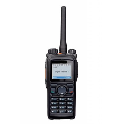Hytera PD785 digitale portofoon DMR IP67 waterdicht VHF - UHF