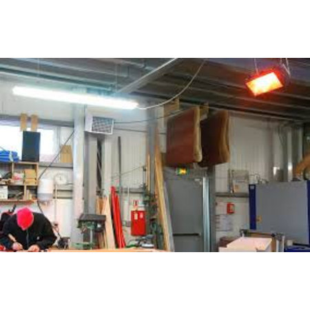 Infrarood Verwarming Helios ATEX 20   Star Progetti