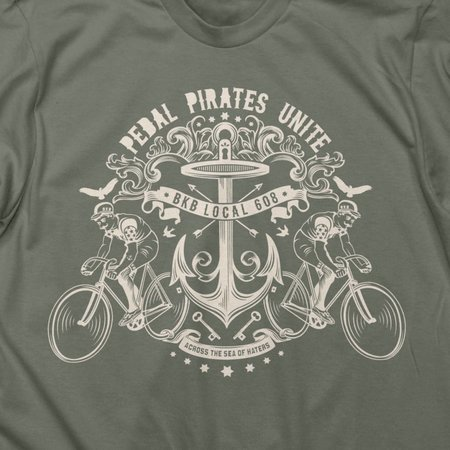Twin Six Pedal Pirates  T-shirt