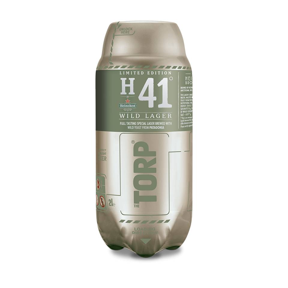 H41 Wild Lager TORP - Best before: 30-11-2018