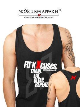 noXcuses® apparel F*CK XCUSES TANK TOP