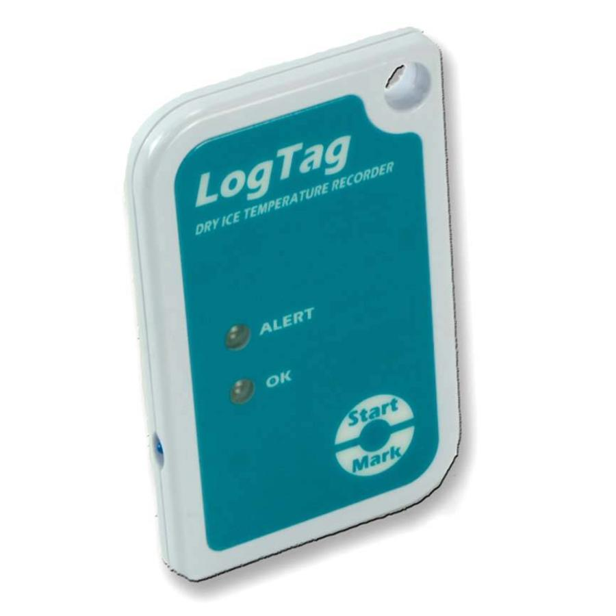 LogTag Sril-8 dry ice temperature recorder