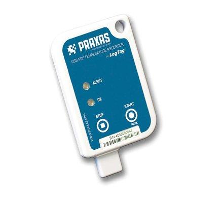 Praxas Usric-8 temperatuurrecorder