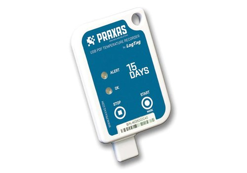 Praxas Usric 8-15D temperature recorder