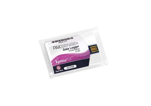 PakSense XpressPDF 15D temperatuurrecorder