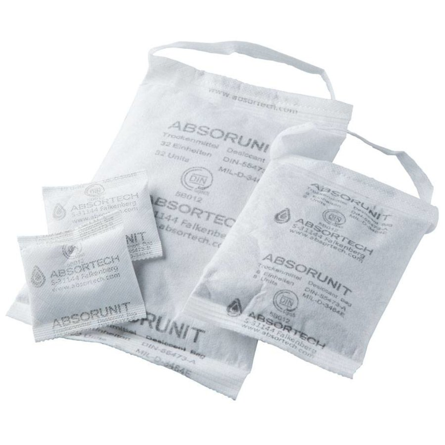 Absorunit 16 u met band (B) 45 pcs droogmiddel