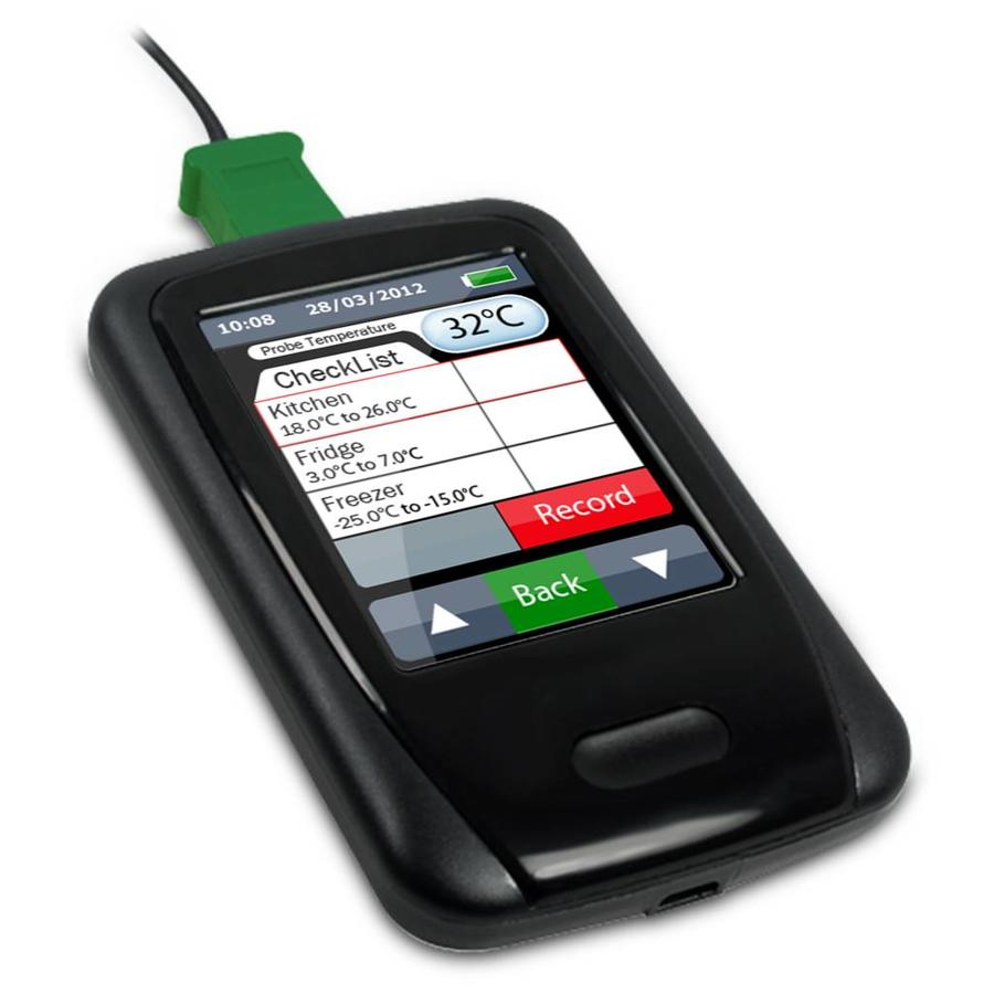 EL-ENVIROPAD-TC Thermometer with Inbuilt Data Logging & Graphing