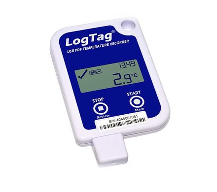 LogTag UTRID-16 multi-use data recorder