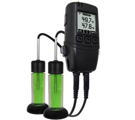 Lascar EasyLog EL-GFX-DTP-PROBE-G Dual Channel Data Logger with Graphic Screen, Glycol Bottle Probes and Calibration Certificate