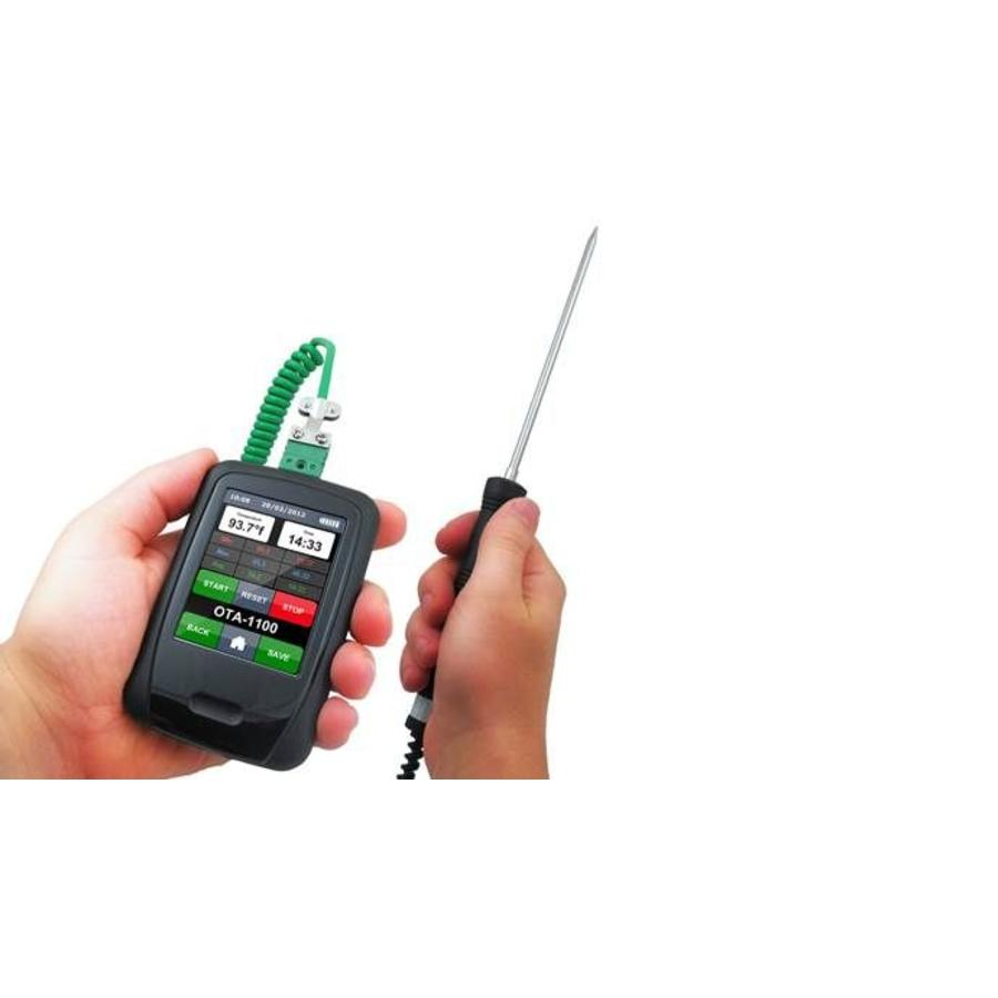 Lascar EasyLog EL-HIPROBE-SPIKE-1.0M-TCK K-type thermocouple probe for use with all Lascar thermocouple data loggers