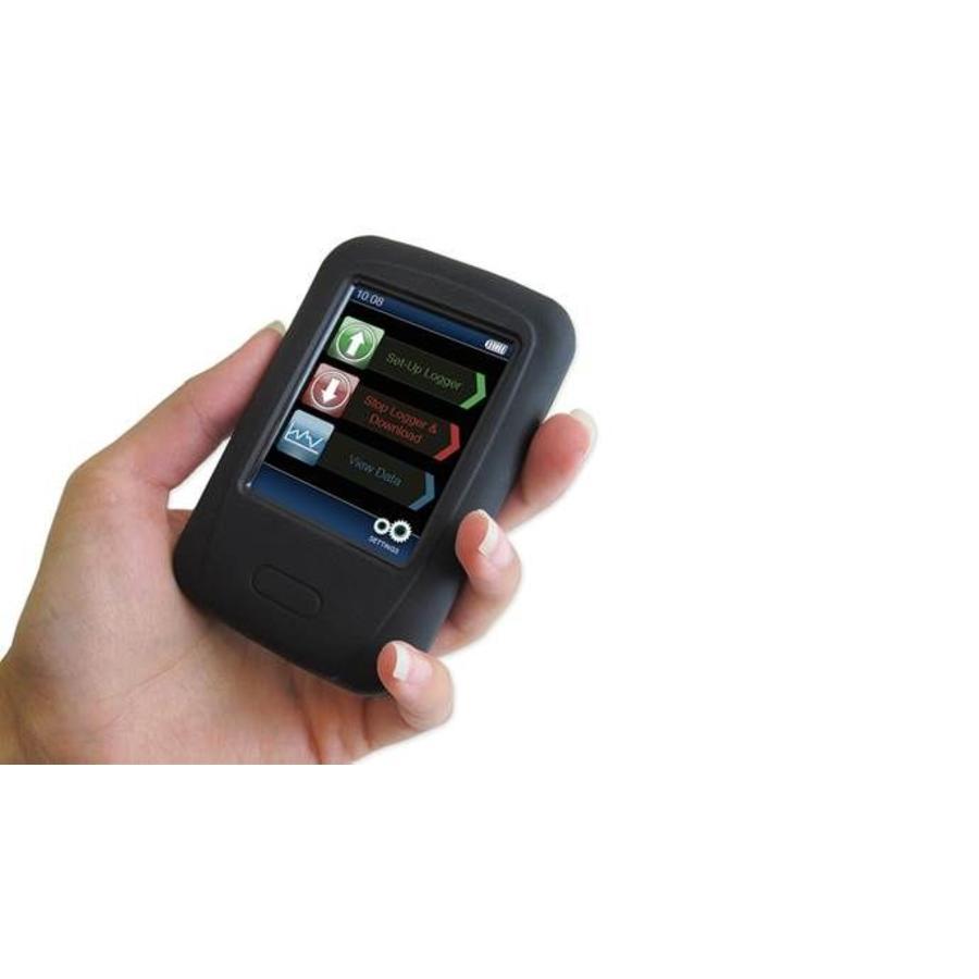Lascar EasyLog PAD-BOOT zwarte beschermende rubberen behuizing voor de EL-Datapad en EL-Enviropad-TC