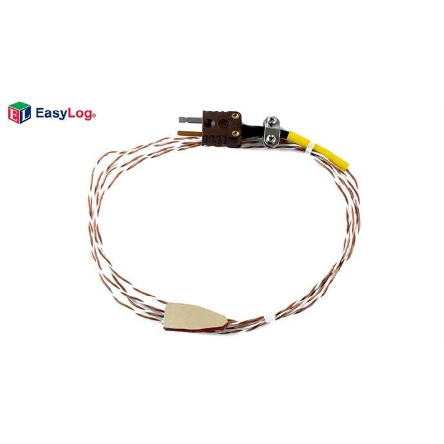 Lascar EasyLog T-TYPE SURFACE 1M5 T-Type thermocouple probe with rubber tip