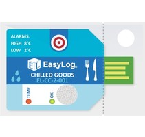 EL-CC-2-001 | Temp & RV datalogger Food 2-8C