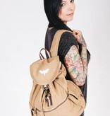 Motten Vintage  Backpack - beige
