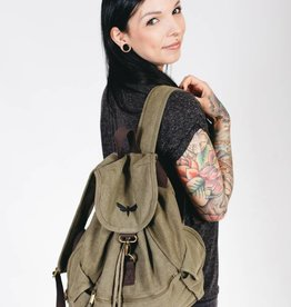 Motten Vintage  Backpack - olive