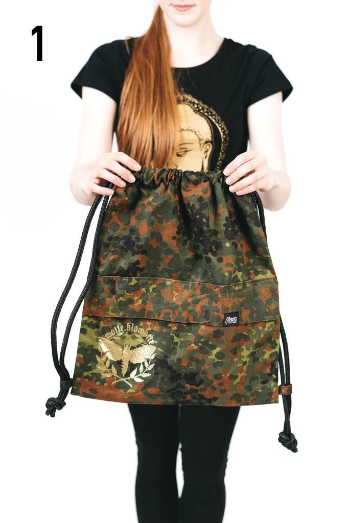 Camouflage - Unikat - Gymbag