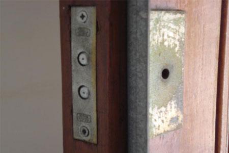 Penslot in deur