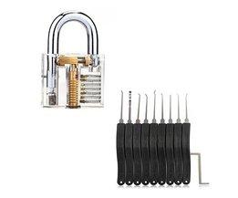 Lockpick set + doorzichtig Oefenslot