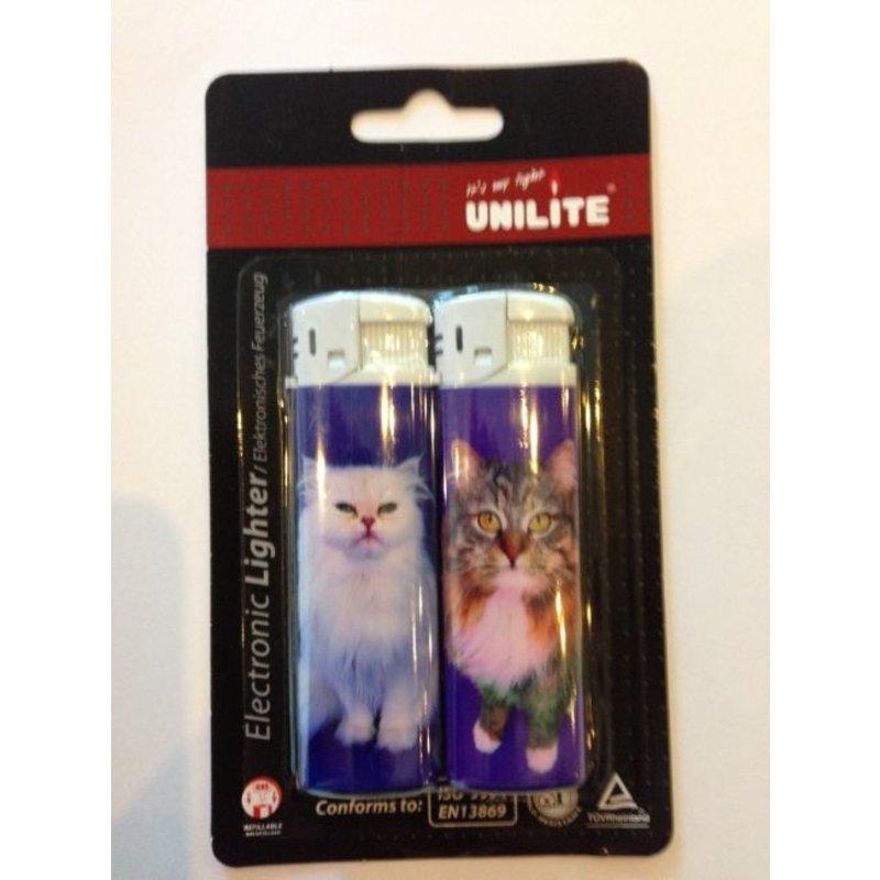 Katten aansteker 2x