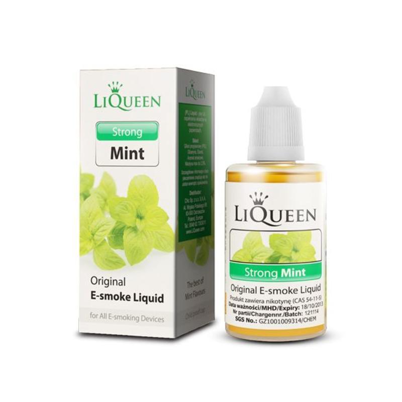 Liqueen Liqueen 0mg nicotine Sterke Mint 10ml