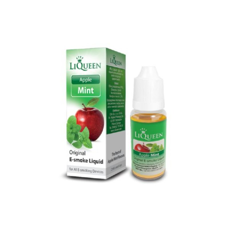 Liqueen Liqueen 18mg nicotine Appel Mint 10ml