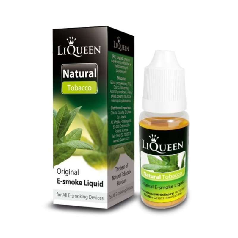 Liqueen Liqueen 6mg nicotine Tabak Smaak 10ml