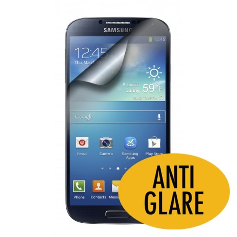 J&S Supply 2 x Screenprotector voor Samsung Galaxy S4 Anti Glare
