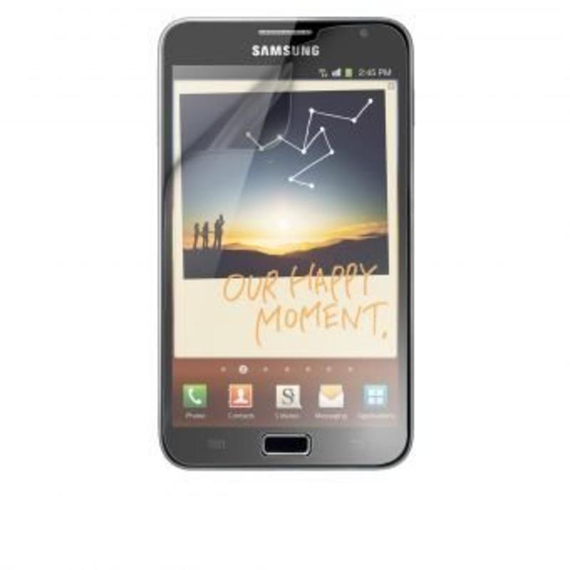 2 x Screenprotector voor Samsung Galaxy Note