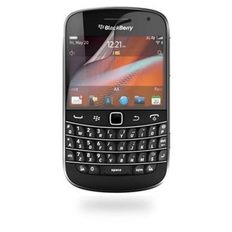 Screenprotector voor 2 x BlackBerry Bold Touch 9900