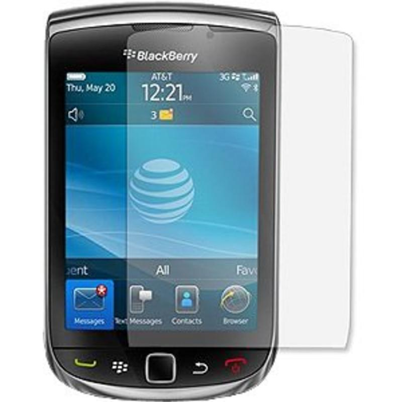 2 x Screenprotector voor de BlackBerry Torch 9800 / 9810