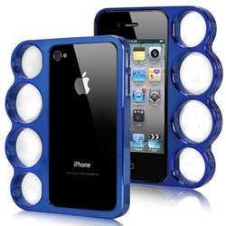 Boksbeugel Case Blauw iPhone 4/4s