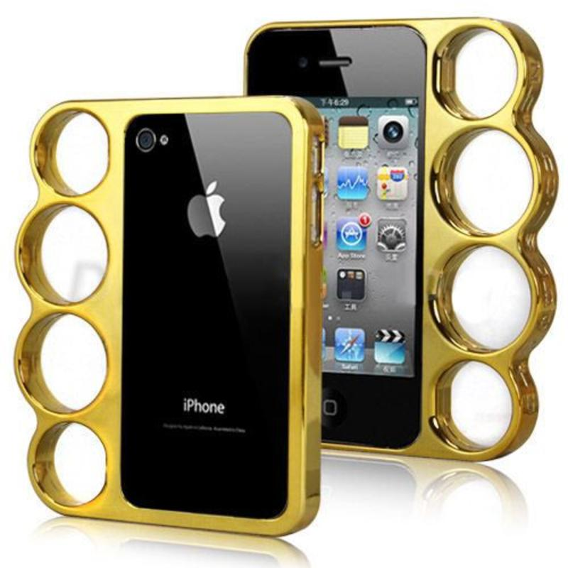 J&S Supply Boksbeugel Case Goud iPhone 4/4s
