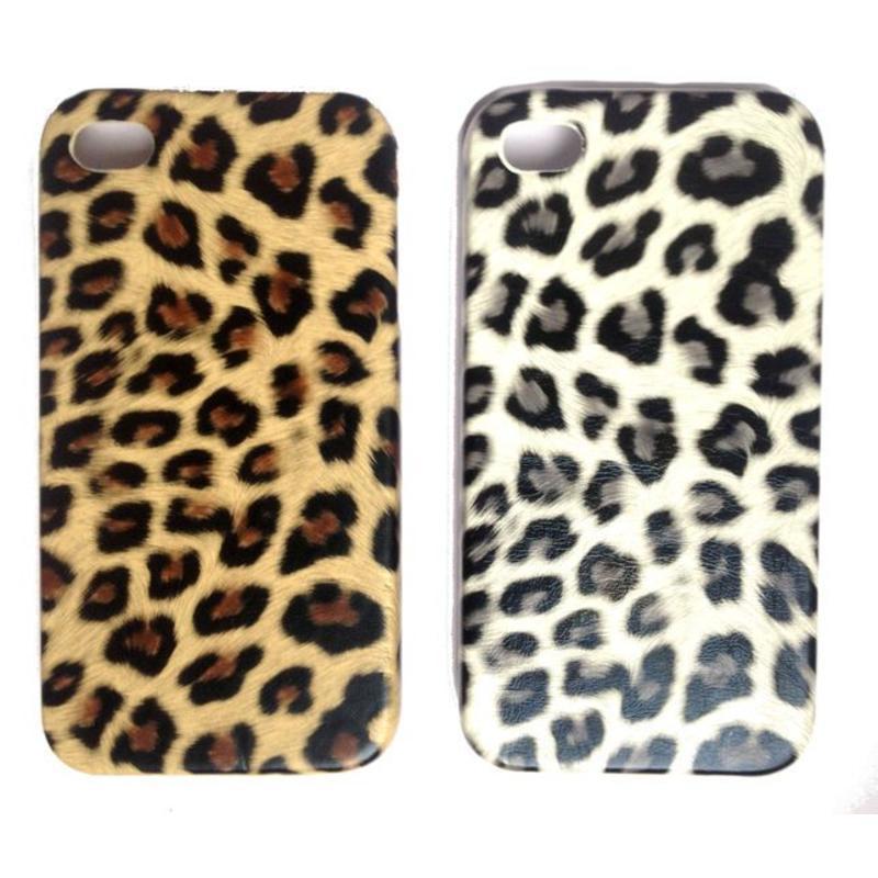 J&S Supply Luipaard Hard Case voor de iPhone 4/4S