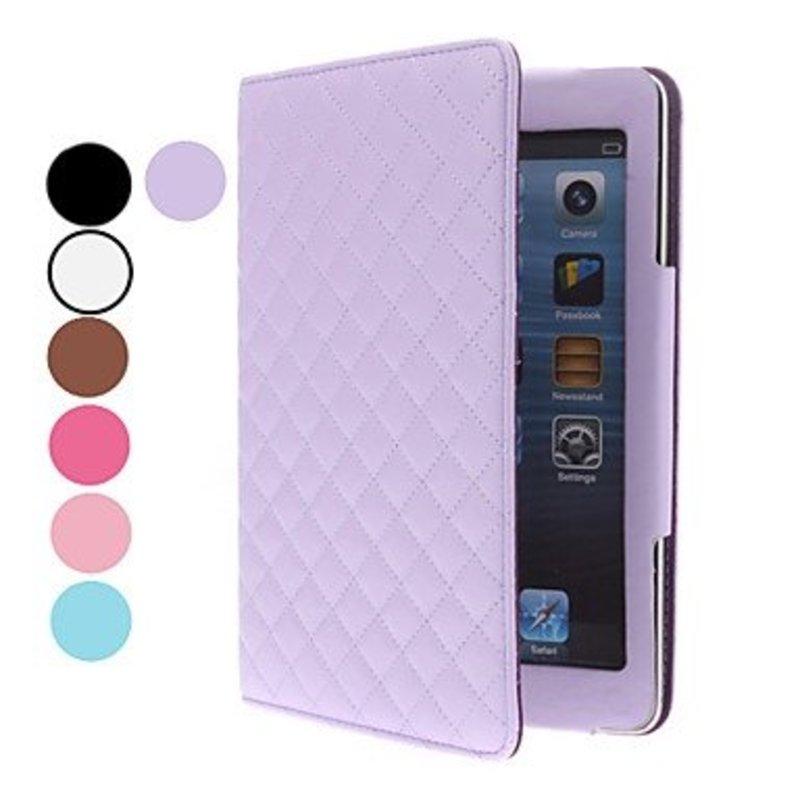 Designer Lederen Smart Cover voor iPad Mini