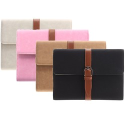J&S Supply Luxe PU Lederen Case met Riem voor de iPad Mini
